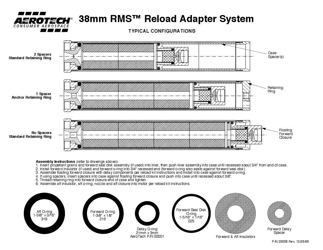 38mm Reload Adapter System